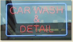 car wash and car detailing